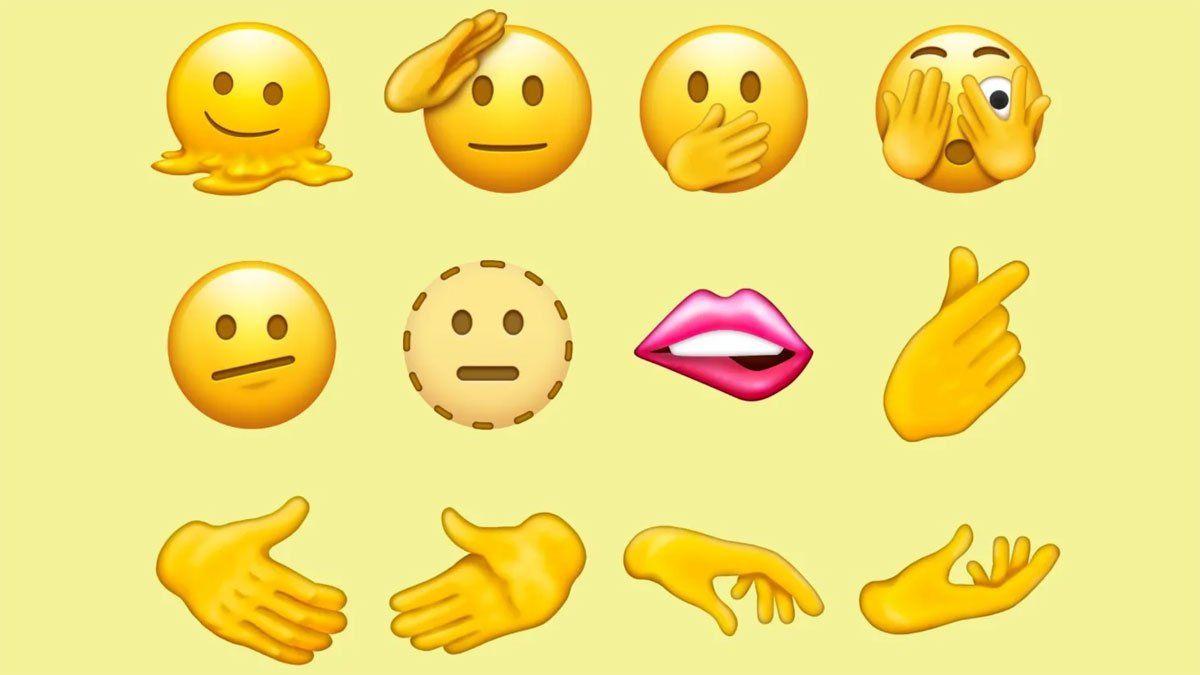 WhatsApp: se conocieron los 37 nuevos emojis para el 2022