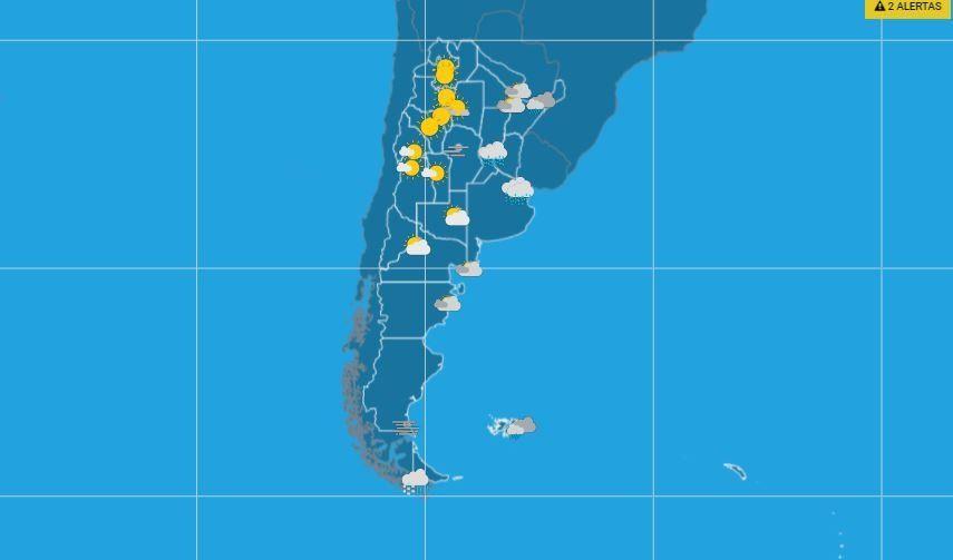 Pronóstico del tiempo hoy: qué indica el SMN para Mendoza