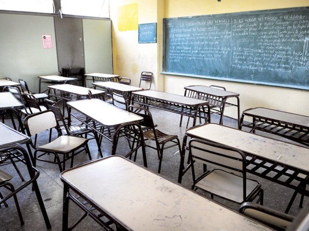Arranca el paro por tres días en las escuelas públicas y privadas de Mendoza
