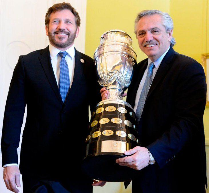 Copa América: hubo una reunión clave