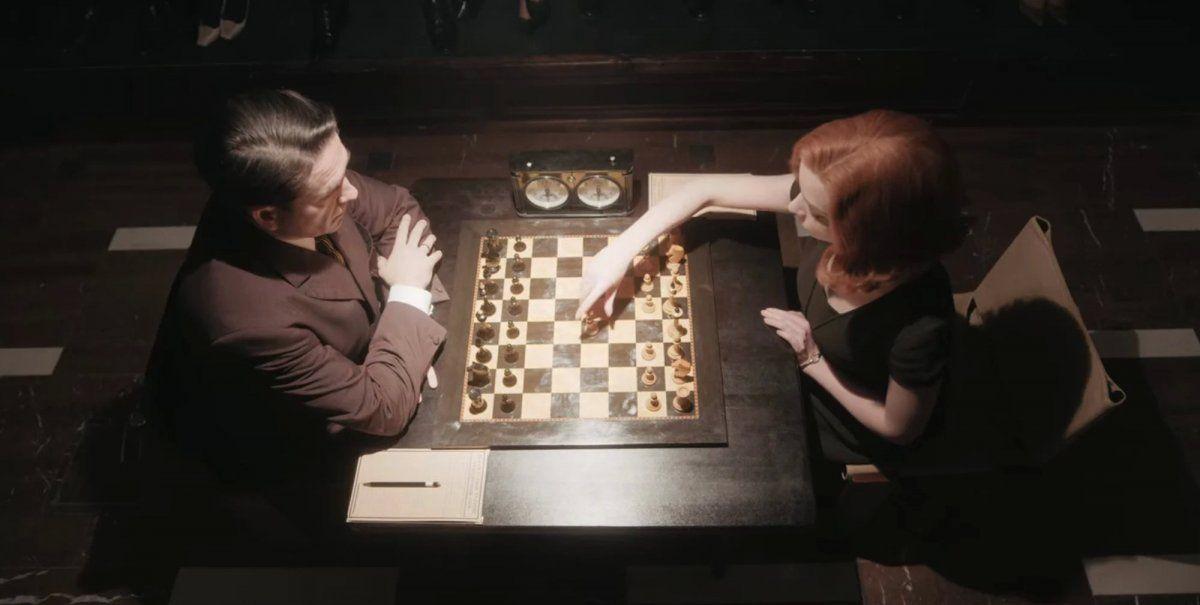 Gambito de dama: el mundo es un tablero de ajedrez
