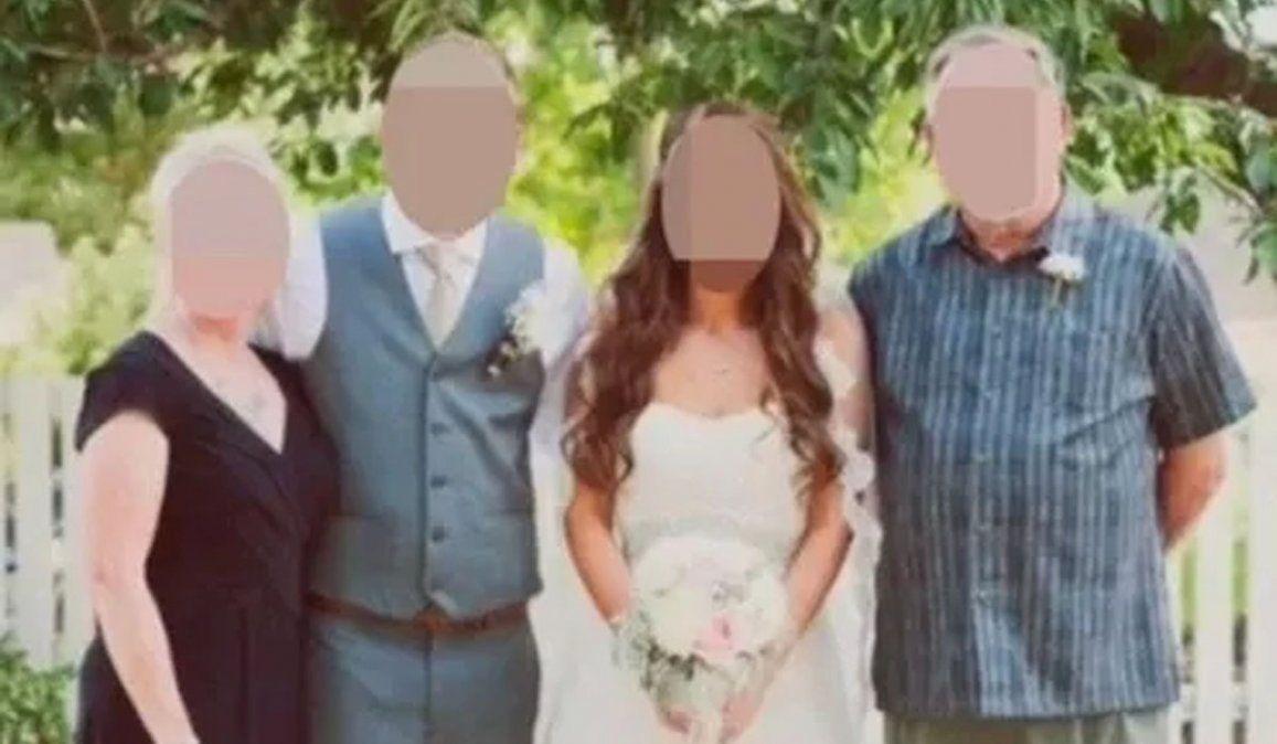 Se vistieron de luto para la boda porque odian a la novia