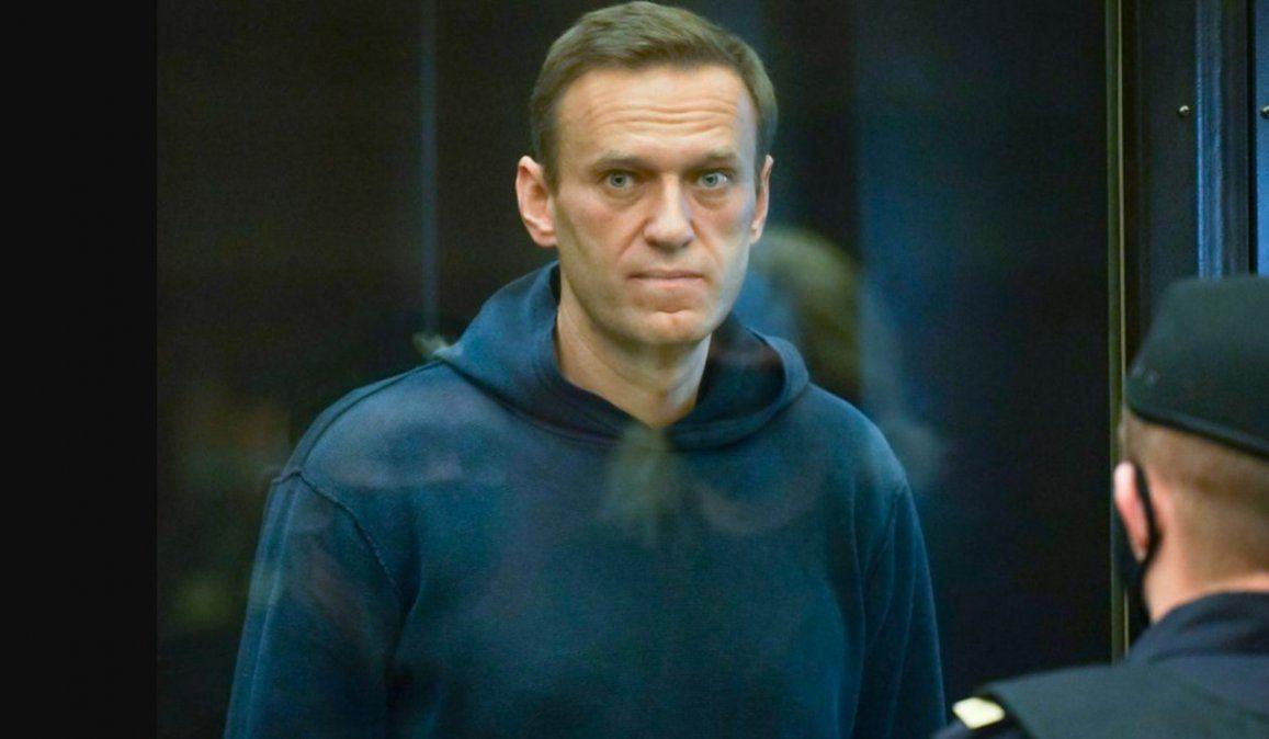 El líder opositor ruso Alexei Navalny fue btrasladado a un hospital de otra prisión de Moscú para ser tratado con vitaminas por el deterioro en su salud