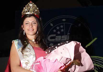 San Rafael eligió como reina a Ana Paula Ribeiro