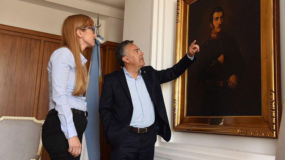 Anabel Fernández Sagasti y Alfredo Cornejo en épocas de menos grieta política.