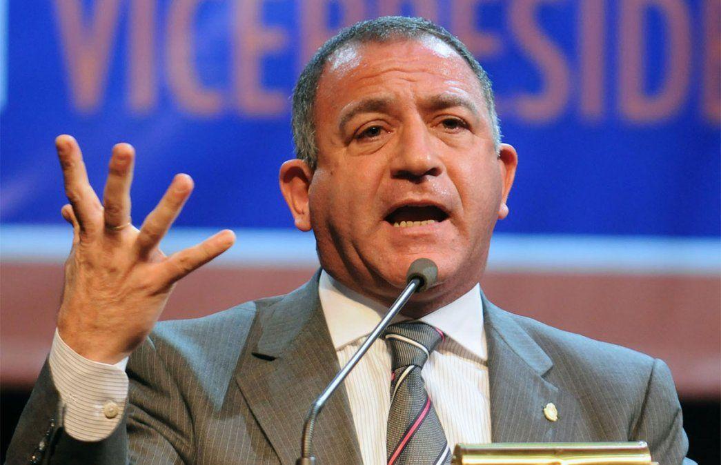 El diputado nacional Luis Juez cargó contra la ministra de Seguridad Frederic por la toma de tierras en varias partes del país. Foto: NA.