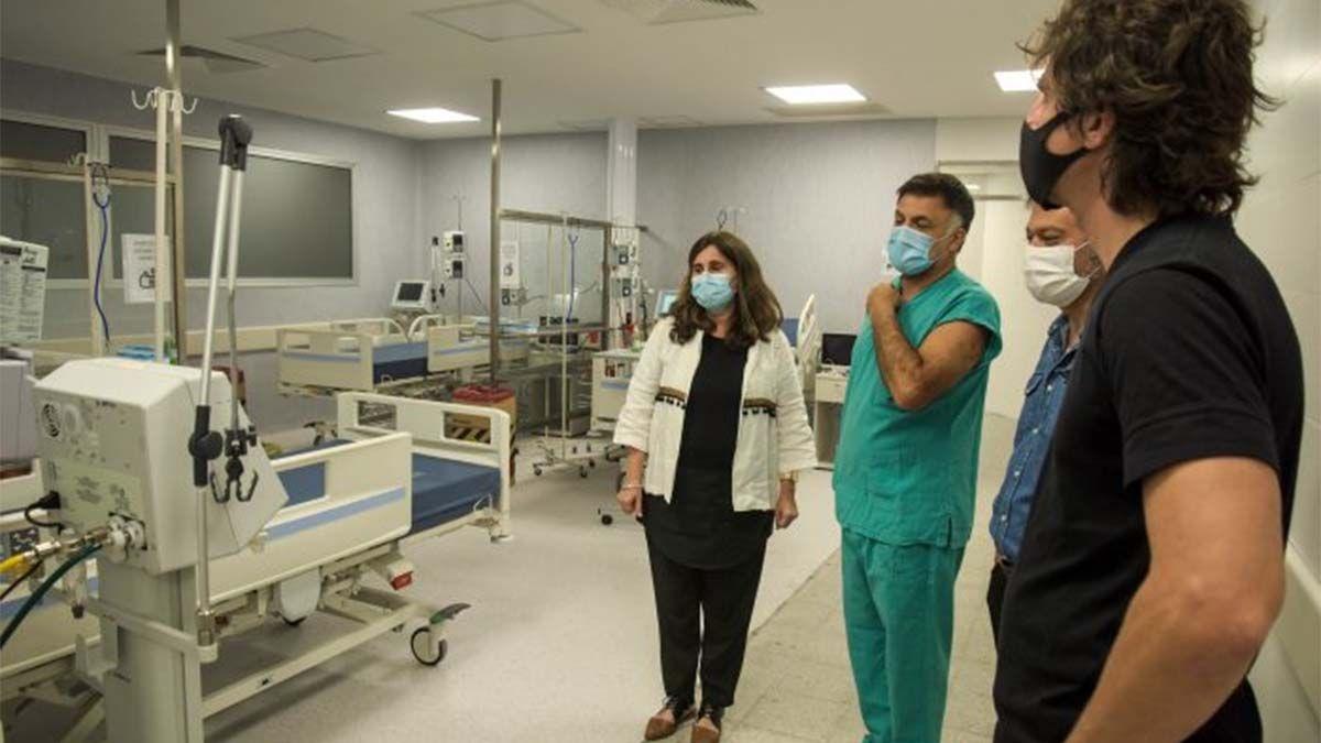 El Gobierno amplió las camas de terapia intensiva del Hospital Central