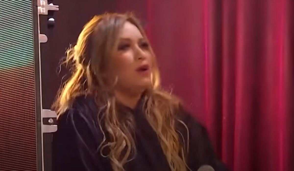 Karina, enfrentada con el jurado de La Academia