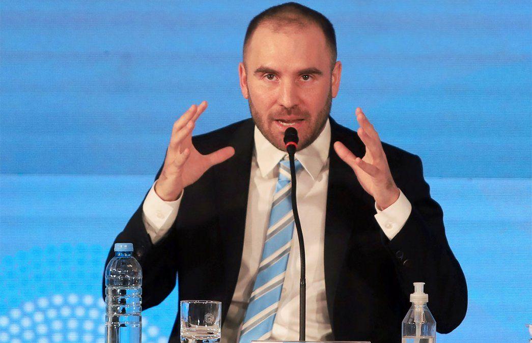 Martín Guzmán dice que el sistema financiero está bien aunque el Ministro de Economía reconoce que hay que poner las cuentas en orden. Foto: NA.