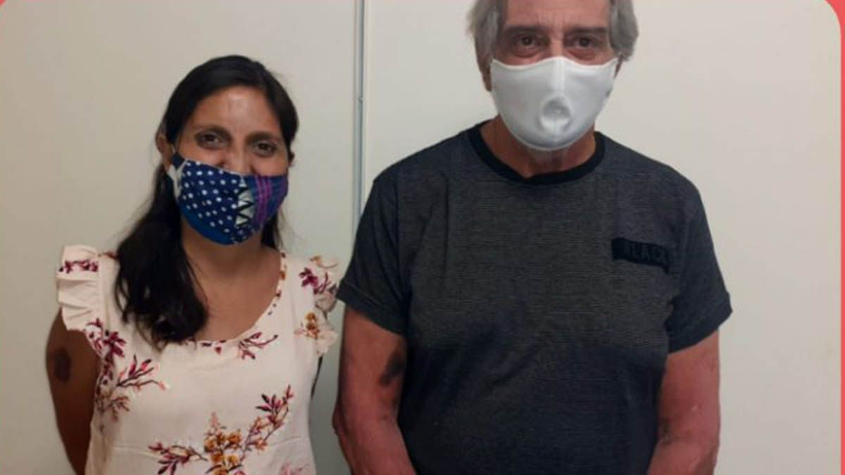Johana y Eduardo, trasplantados en el Central, se recuperan y lo cuentan
