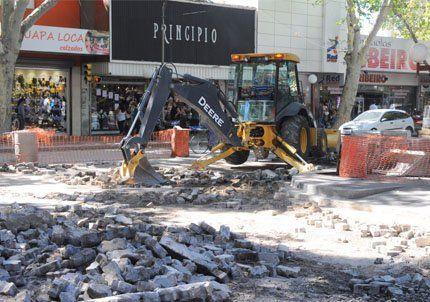 La calle General Paz de Capital quedó cortada por obras viales
