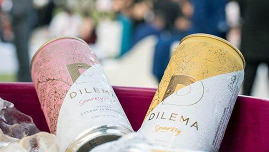 Bodega Estancia Mendoza presentó su nueva línea Dilema Sparkly en lata