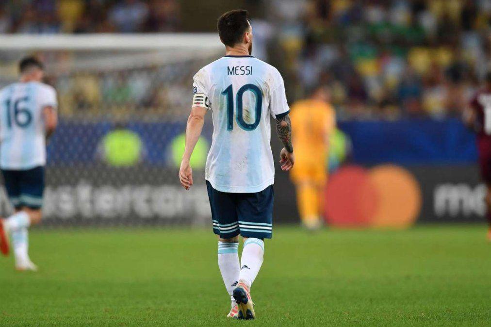 Buenas noticias para Messi y la Selección argentina