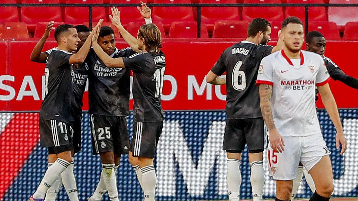 Real Madrid le ganó al Sevilla y se recuperó