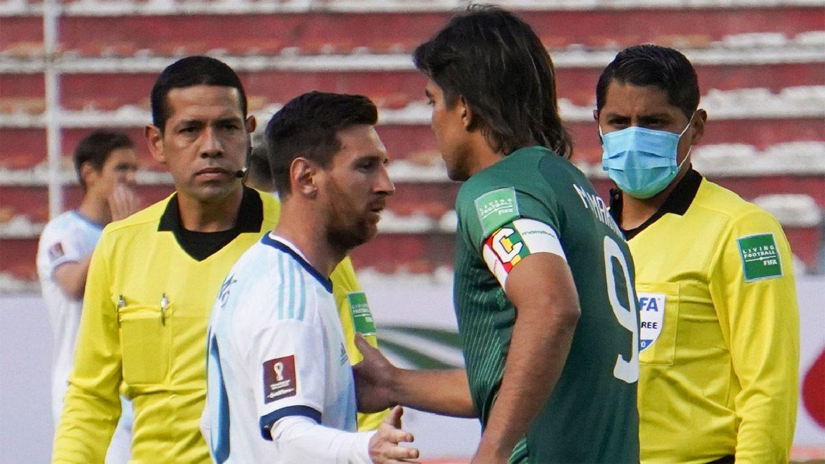 Martins dio el ejemplo y le ofreció disculpas a Messi