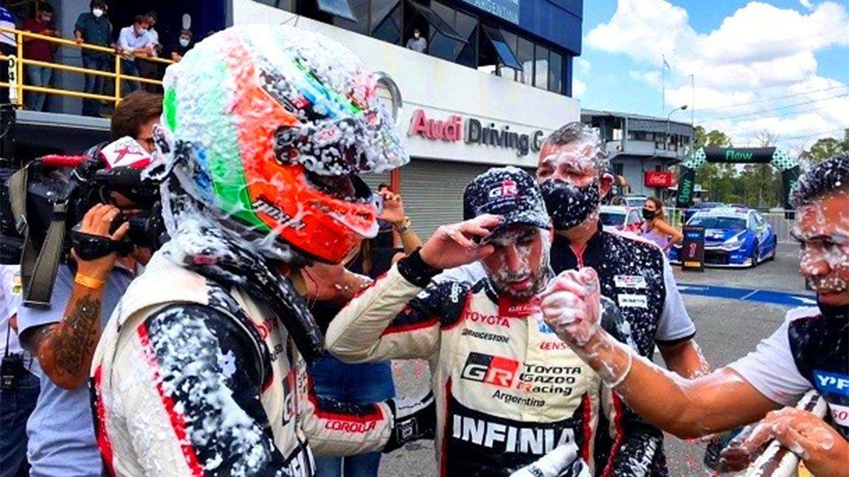 Matías Rossi se consagró campeón y Santero se destacó