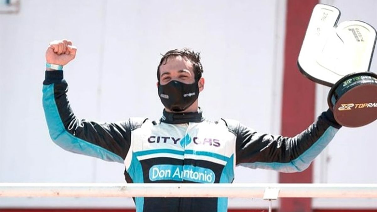 Diego Azar ganó en el Top Race V6 en Concepción