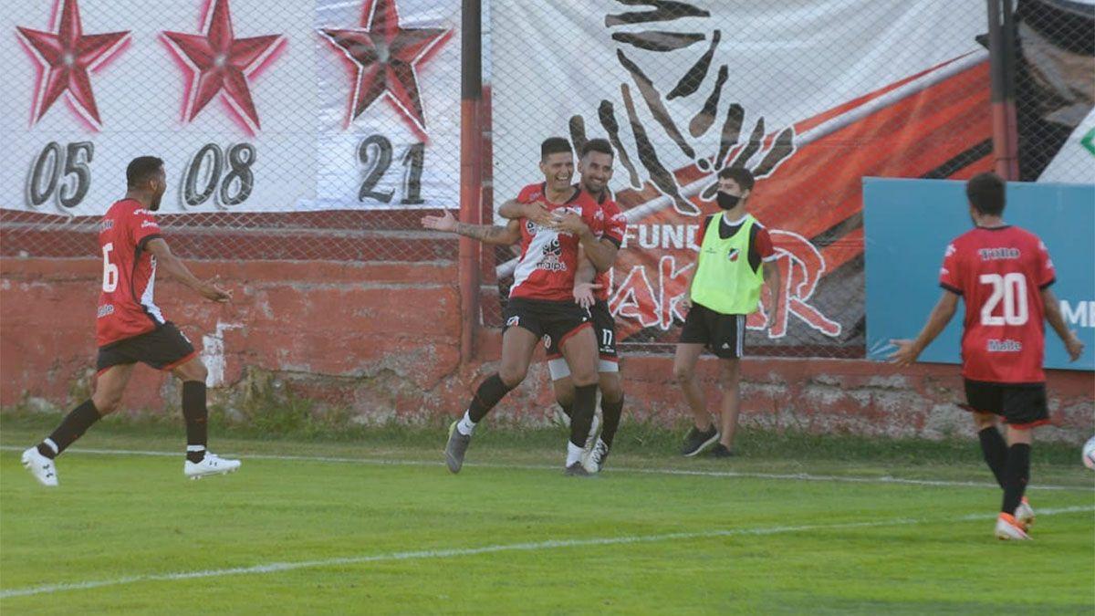 Deportivo Maipú lo ganó en tiempo adicionado