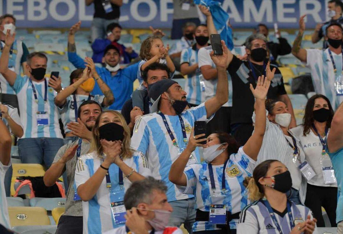 La Selección Argentina contará con la presencia de público en las Eliminatorias.