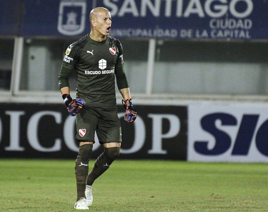 Sebastián Sosa será el arquero de Independiente en Tucumán.