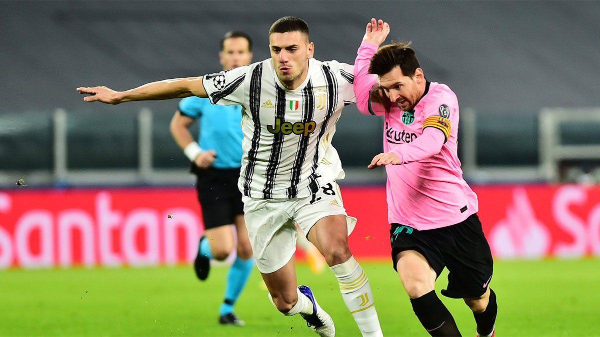Barcelona venció a Juventus con un gol de Messi