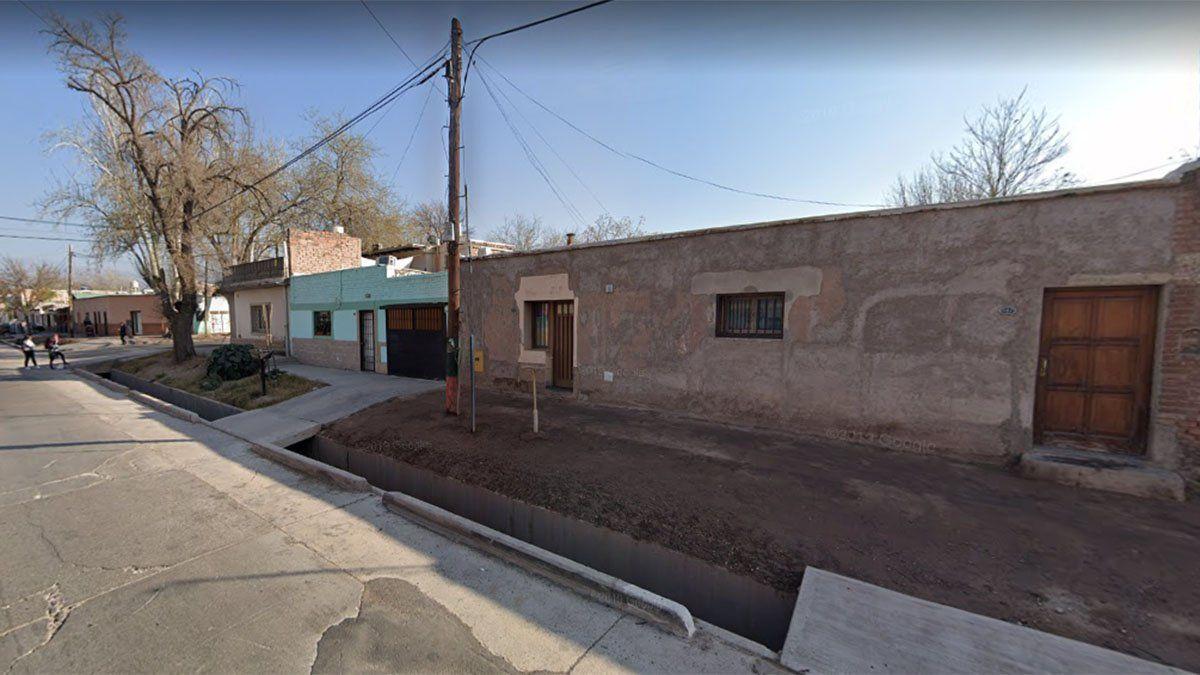 La víctima fatal vivía en la calle Mariano Moreno al 500