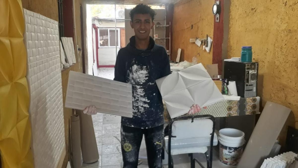 La historia de Sebastián Yacante (18) se hizo viral en las redes sociales