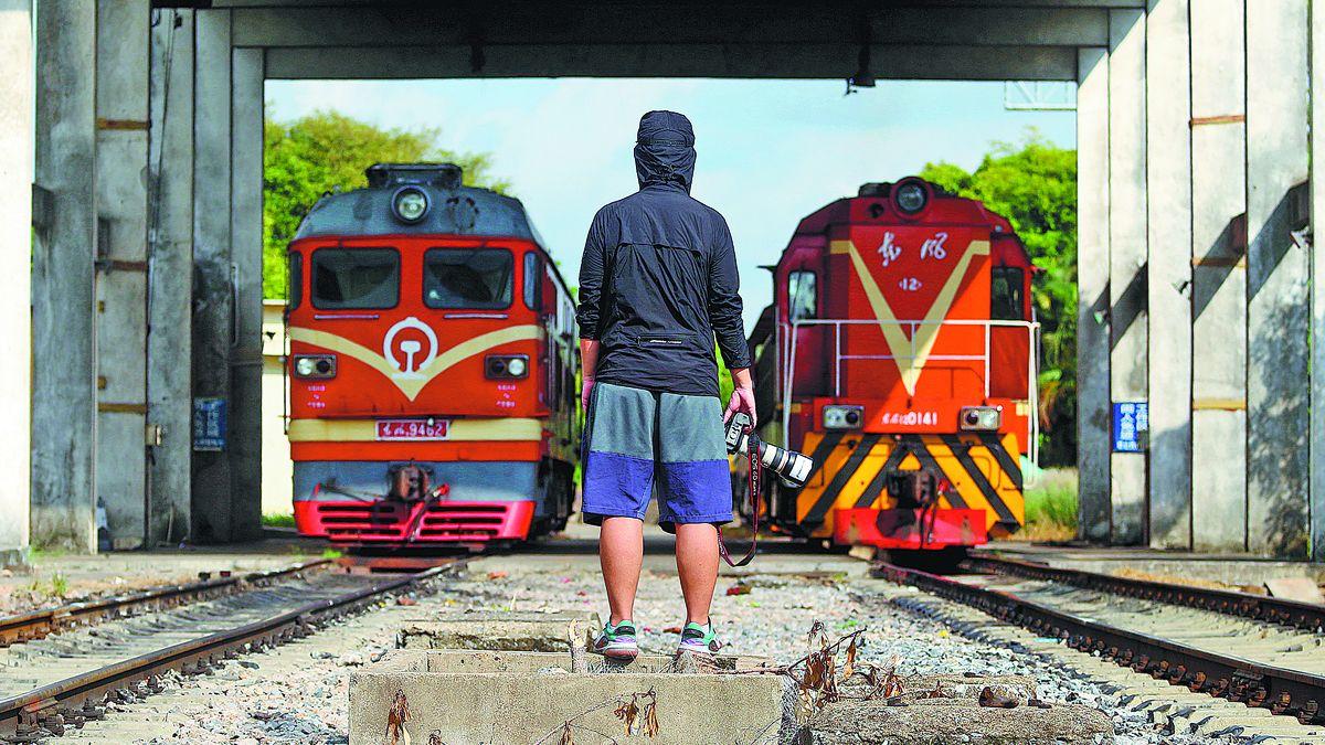 Con su cámara, a recorrer toda China en tren