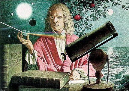 Newton, a hombros de gigantes