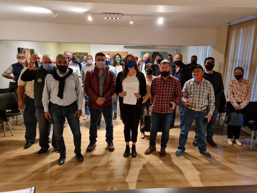 Legisladores del Frente de Todos se reunieron con el movimiento obrero por la baja de Ganancias.