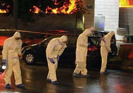 Estalló una bomba frente a la sede del Parlamento griego en Atenas