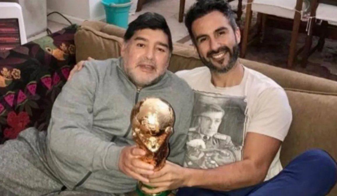 La Justicia comprobó que Luque falsificó la firma de Maradona