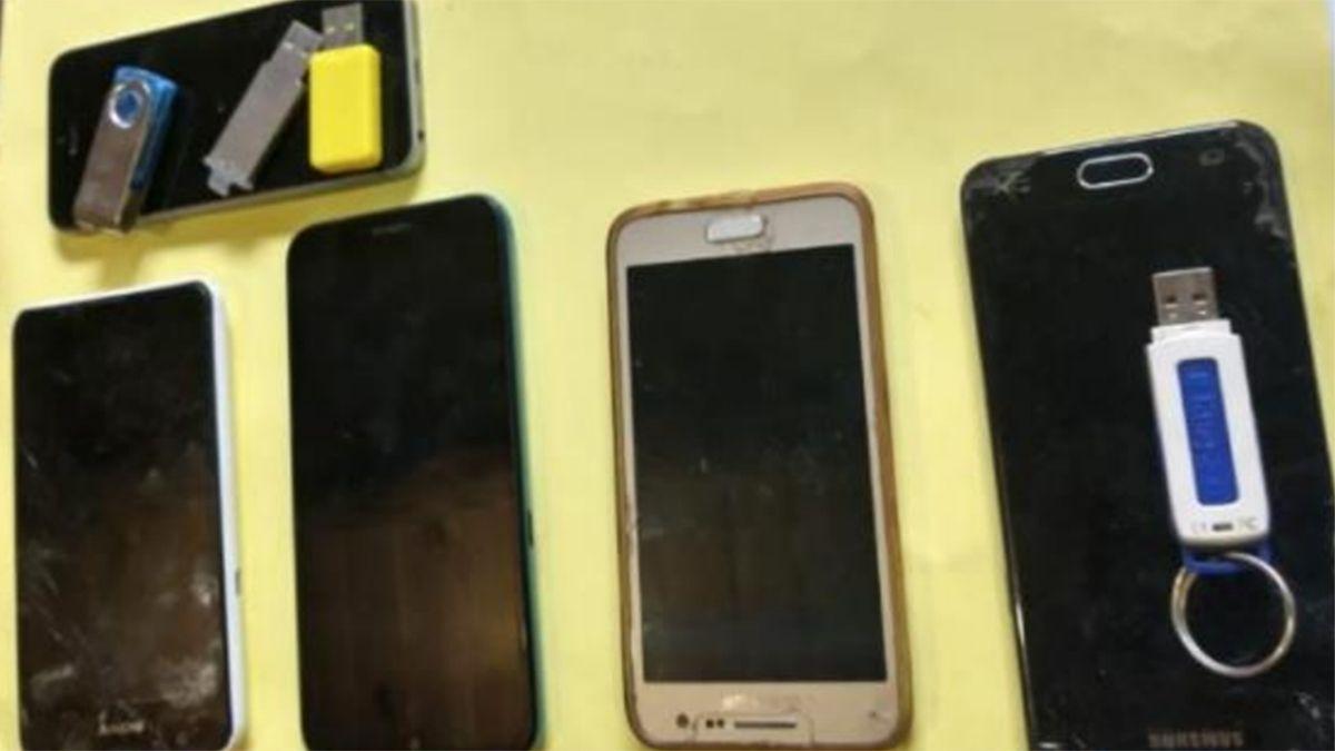 En los allanamientos encontraron celulares que serán investigados.