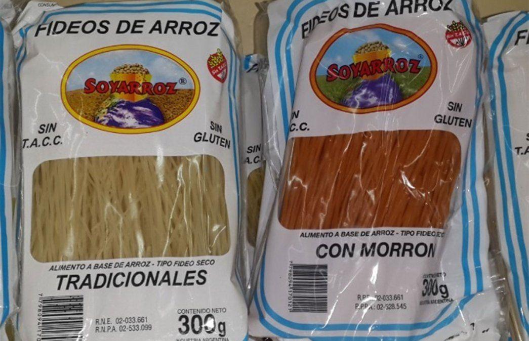 ANMAT prohibió todos los productos de la marca SOYARROZ