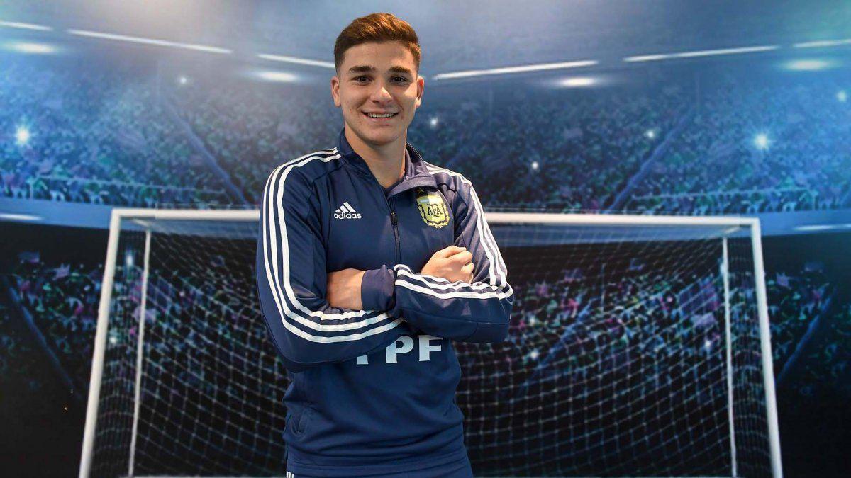 Julián Álvarez estará en la Copa América 2021