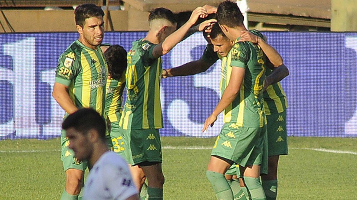 Aldosivi lo liquidó sobre el final y venció a Platense