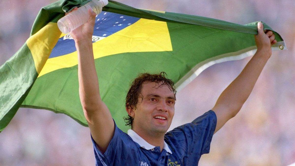 Branco, campeón del mundo en el 94, sufre coronavirus y está grave