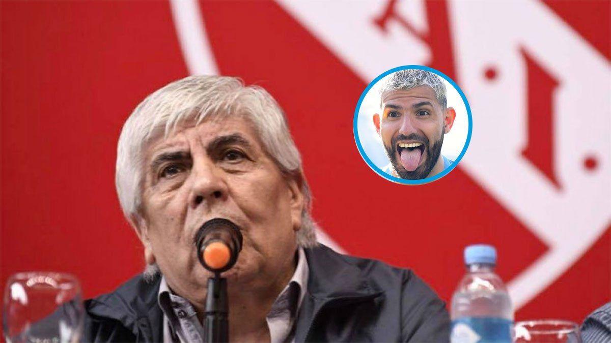 Independiente va por Agüero: Hugo lo está llamando al Kun
