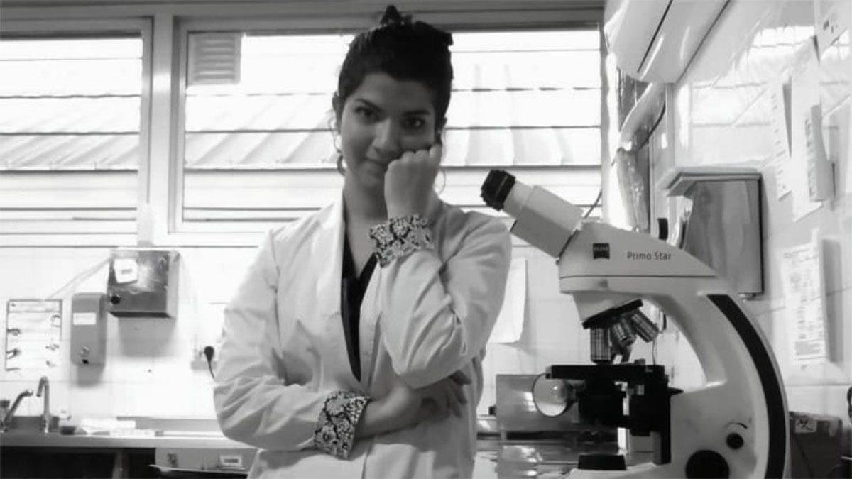 Nadya Miranda era bioquímica del Hospital Perrupato