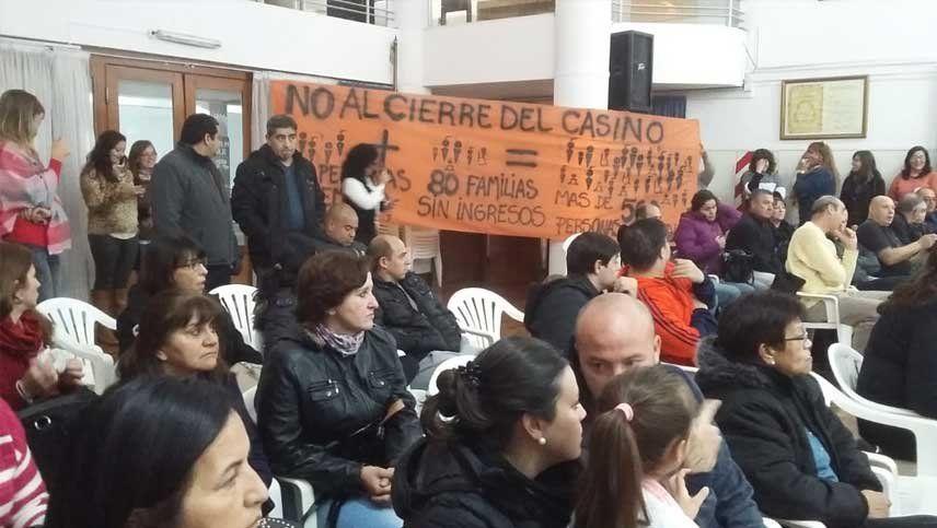 El cierre de un casino en San Rafael se metió en la campaña electoral