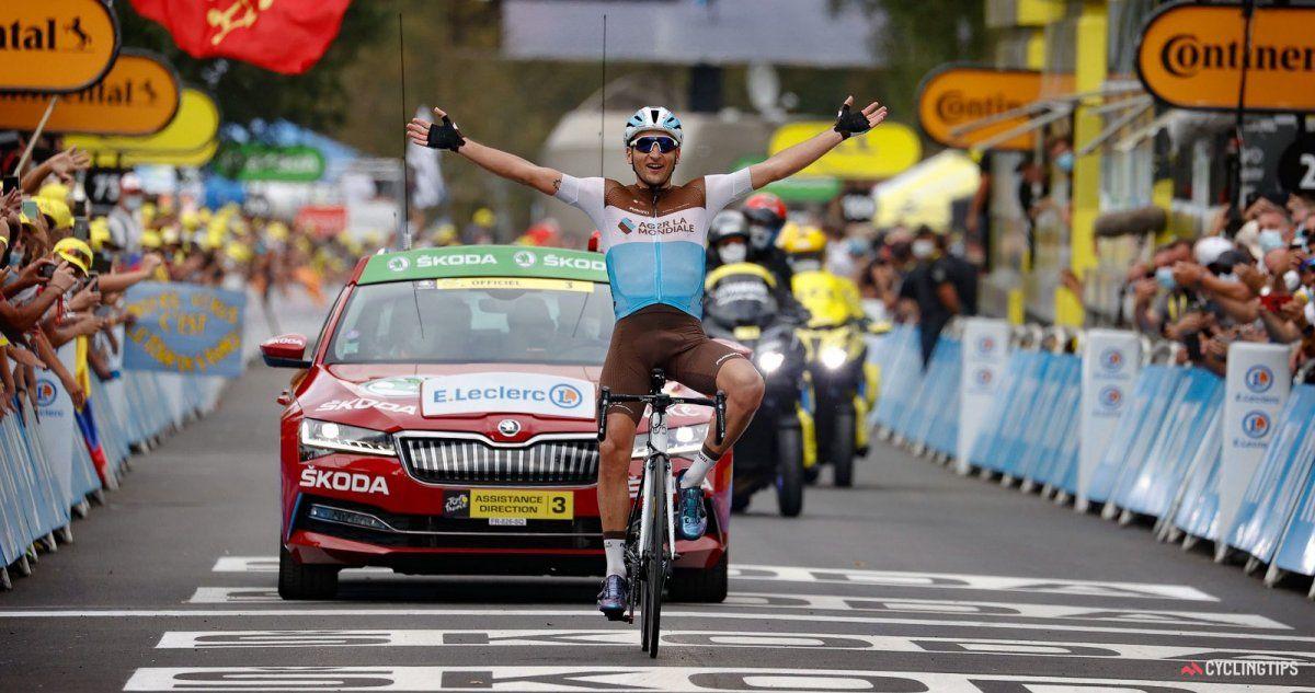El ciclista local Nans Peters se adjudicó la octava etapa.