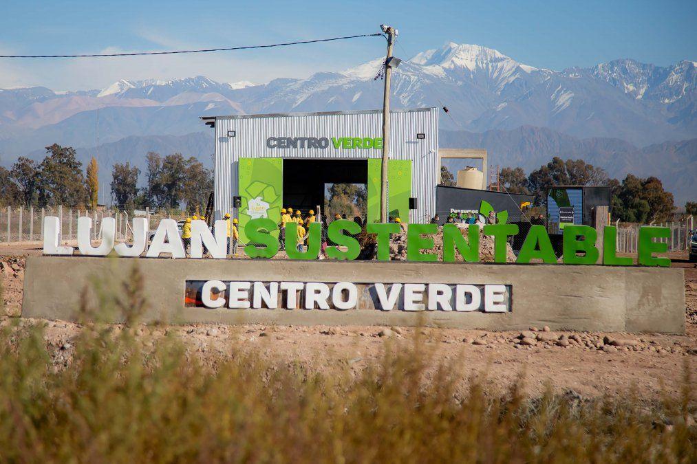 Luján de Cuyo inauguró el Centro Verde más importante de la provincia.