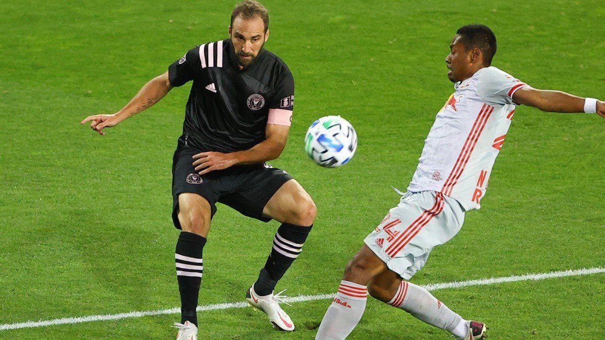Inter Miami, con los hermanos Higuaín, empató en la MLS