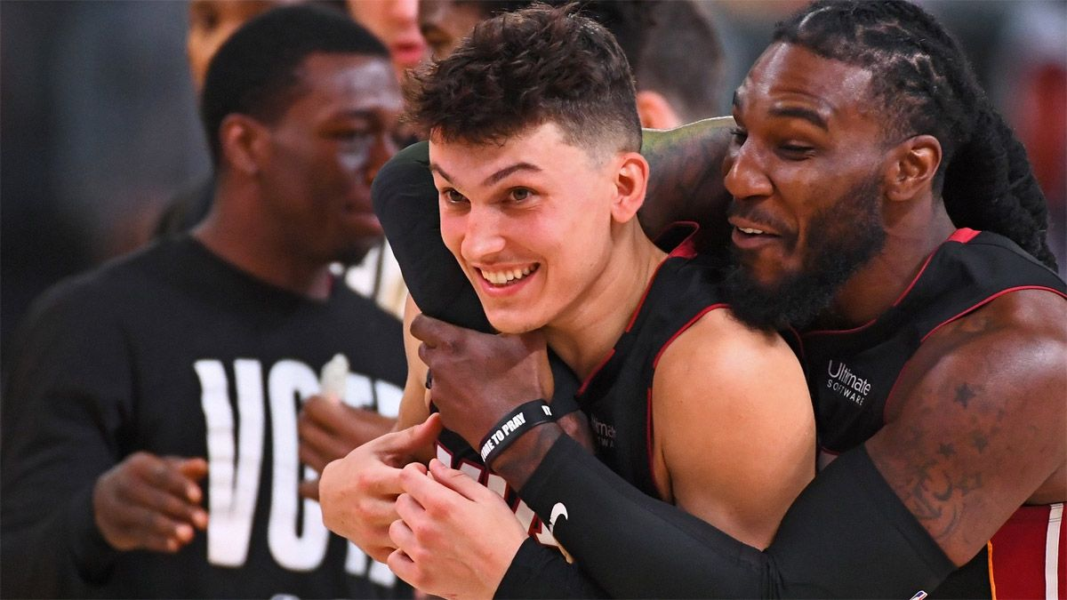 Miami Heat ganó y sacó ventaja ante Boston Celtics en la NBA