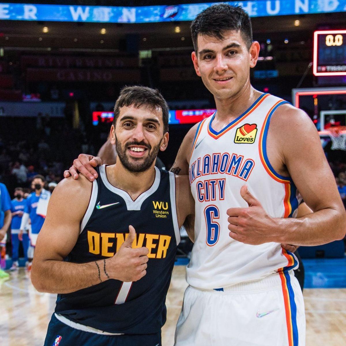 Facundo Campazzo y Gabriel Deck se enfrentaron en un amistoso previo al inicio de la NBA