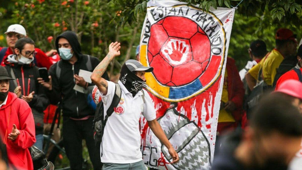 Argentina-Colombia en Barranquilla: temor por los disturbios