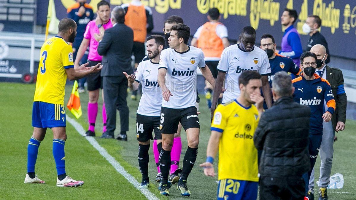 El Valencia dejó la cancha por un episodio de racismo