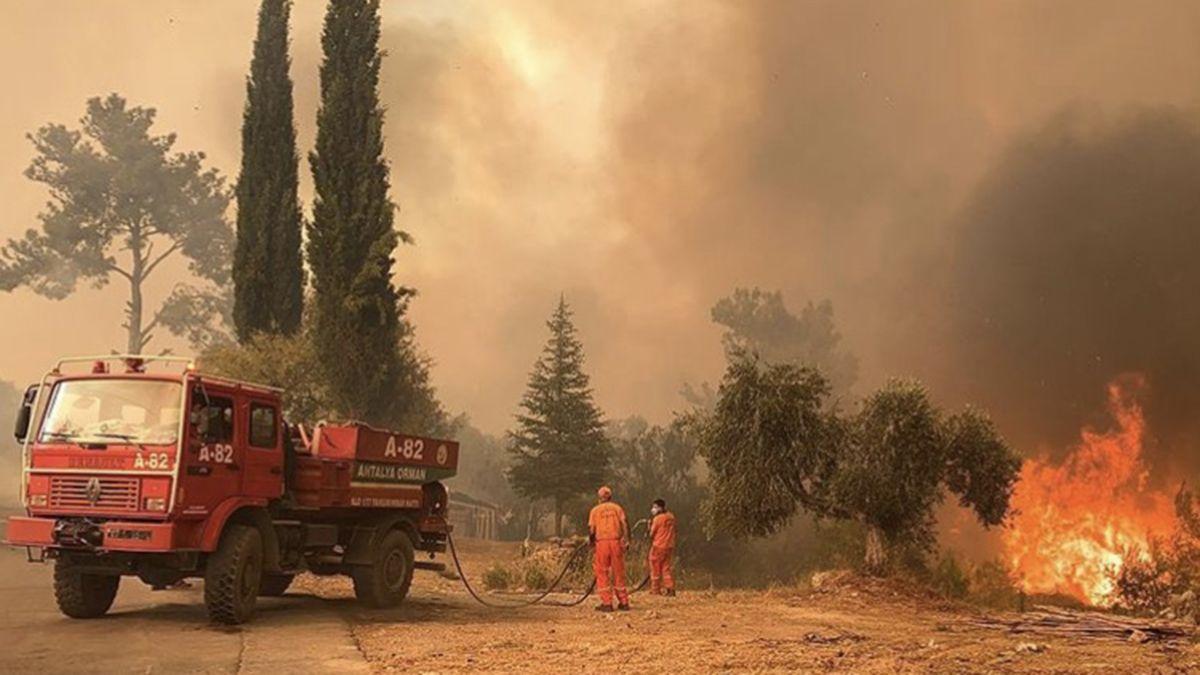Incendios en Turquía: provocaron seis muertos y 200 heridos