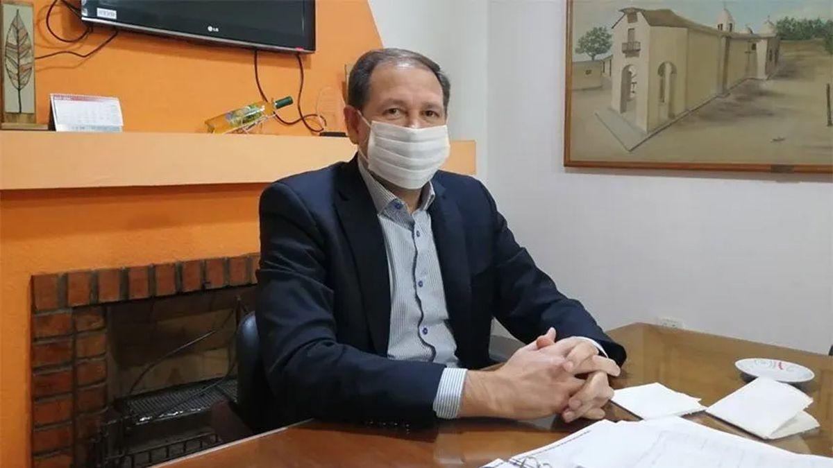 Roberto Righi destinará el presupuesto de la vendimia virtual a los productores de Lavalle afectados por las tormentas.