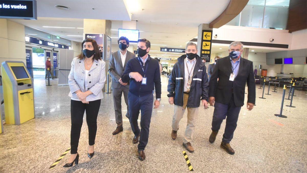 El aeropuerto de Mendoza está listo para la llegada del primer vuelo luego de 7 meses